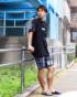 ブラック:175cm/67kg(Mサイズ着用)