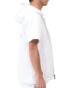 ホワイト180cm67kg(Lサイズ着用)
