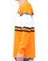 オレンジ:180cm67kg(Lサイズ着用)