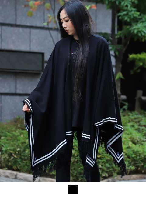 ブラック:155cm(FREE)