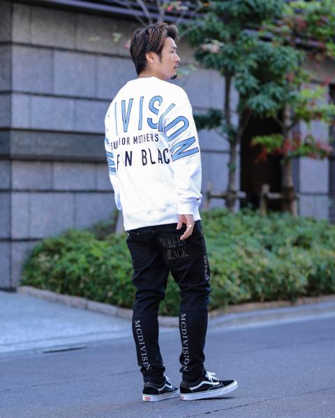 ブラック:186cm(Lサイズ着用)
