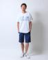 ホワイト:183cm/65kg(XLサイズ着用)