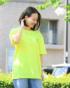 レモンイエロー:160cm(Mサイズ着用)