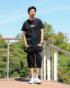 ブラック:183cm/65kg(Lサイズ着用)