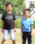ブラック:122cm/22kg(130cm着用) ターコイズ:105cm/17kg(110cm着用)