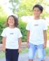 ホワイト 左:107cm/17kg(110cm着用) 右:122cm/22kg(130cm着用)