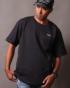 ブラック:177cm/72kg(Lサイズ着用)